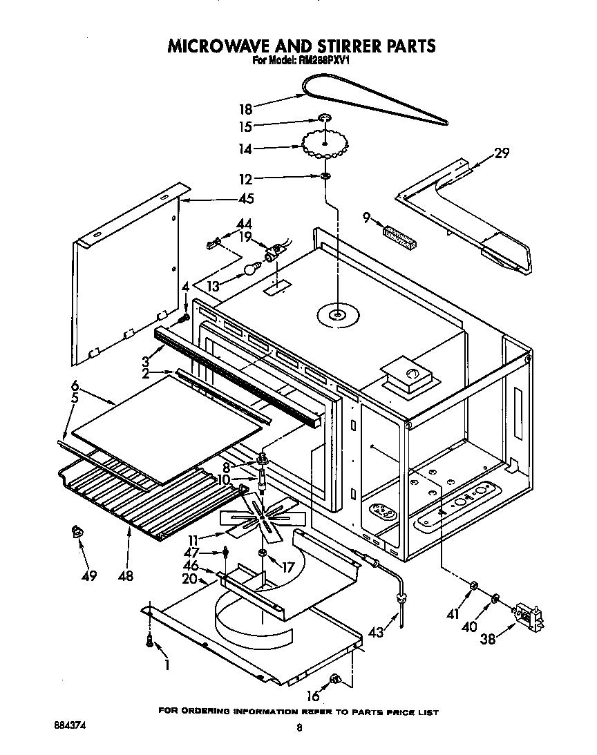 Fabulous whirlpool microwave parts diagram whirlpool microwave parts diagram 864 x 1093 · 21 kb ·