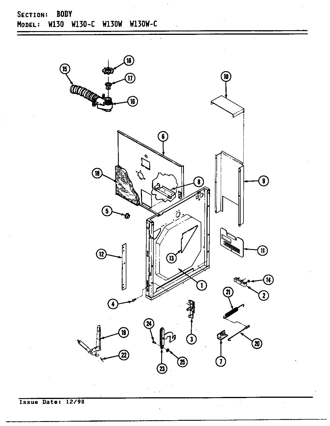 Jenn Air W130 Wall Oven Timer