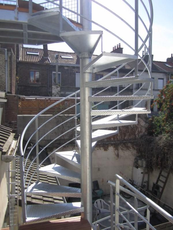 Escaliers Mtalliques Extrieurs Mtallerie Escalier