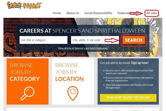 how to apply for spirit halloween jobs online at spirithalloween com