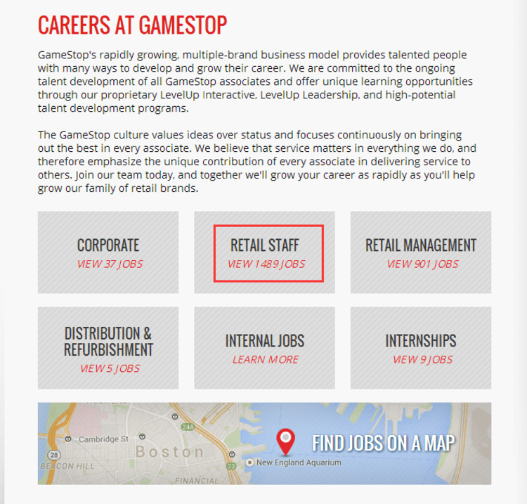 How To Apply For Gamestop Jobs Online At Com Careers
