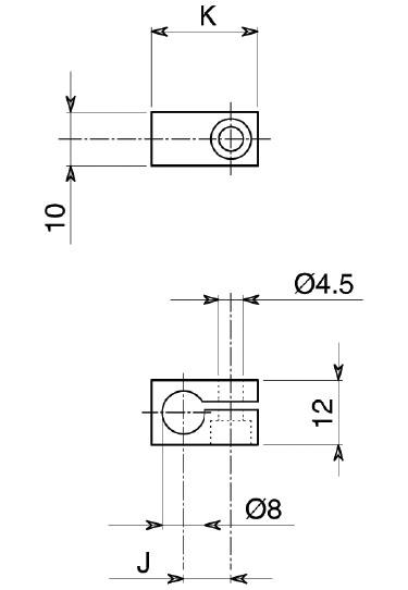 Staffe porta micro per controllo aperto - chiuso pinze pneumatiche Open - close switch brackets pneumatic grippers