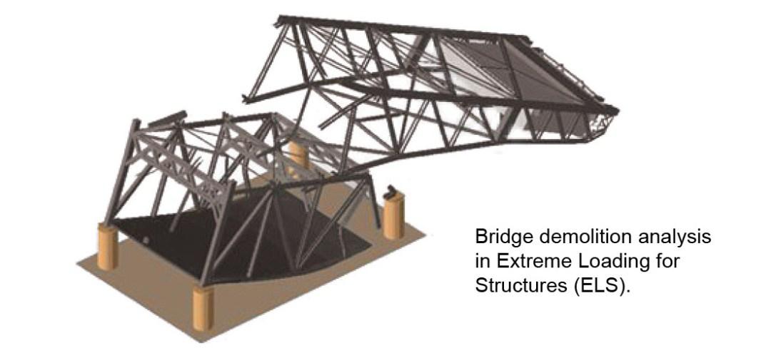 Demolition Design - Tule Lake Lift Bridge Demolition Simulation - Applied Science International