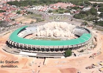 Castelão Soccer Stadium Demolition