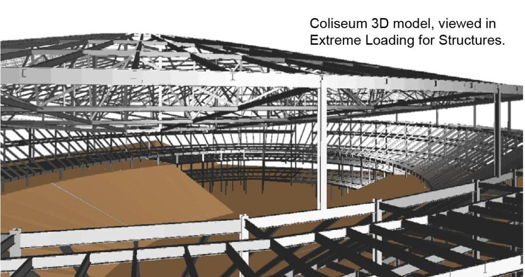 Structural Analysis - Charlotte Coliseum Demolition Design - Applied Science International