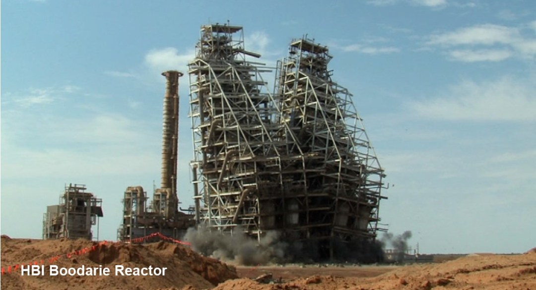 Demolition Design - HBI-Boodarie-Reactor - Applied Science International