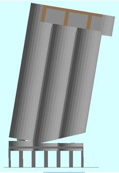 Silo Explosive Demolition - Ambev Small Silo Demolition: T= 4.0 sec - Applied Science International
