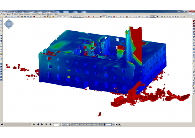 3D Nonlinear Dynamic Analysis Software - Maragrita Palace - Applied Science International