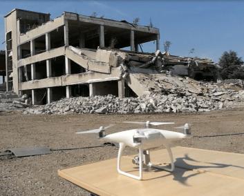 UAV with Digital Camera