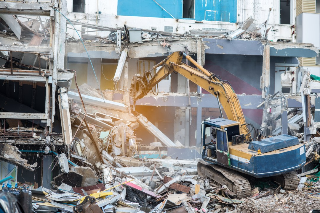 Specifying Safe Demolition - Demolition Specification - Applied Science international
