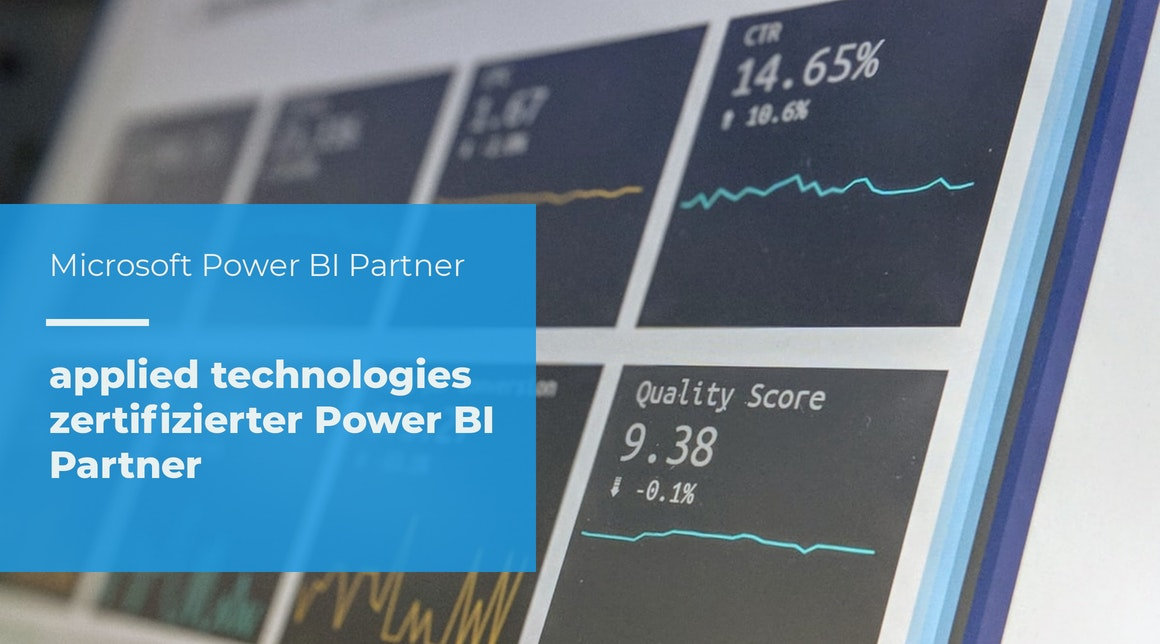 applied technologies GmbH zertifizierter Microsoft Power BI Partner