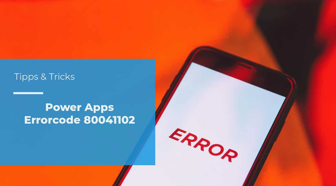 Tipps & Tricks – Power Apps Solution Checker cannot be completed – Errorcode 80041102