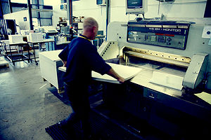 Paper-Guillotine-Paper-Pulp Manufacturing machine