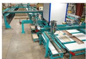 feeding-stacking machine-wood machine-stacking