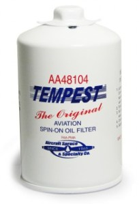 Tempest AA48104 S-O Oil Filter