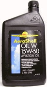 Aero Oil W 15w50-1 Quart Cans