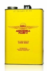 AeroShell Fluid 4-6x1-Gallon Cans