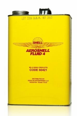 AeroShell Fluid 4-6x1-Gallon Cans