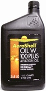 AeroShell Oil W 100 Plus 12x1-Quart Cans