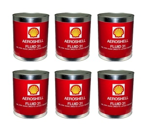 Aeroshell Fluid 31-6 x1-Gallon Cans