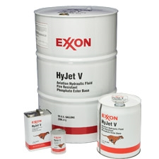 Exxon HyJet V Aviation Hydraulic Fluid-55GL