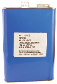 Royco 885 instrument-oil 1 gal