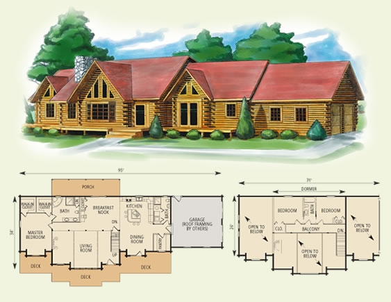 4 Bedroom Cabin Haven For You In Brothers Cove. 4 Bedroom Log Cabin House Plans   Bedroom Style Ideas