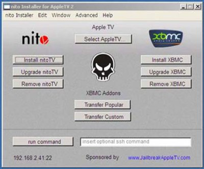 Jailbreak NITO Apple TV