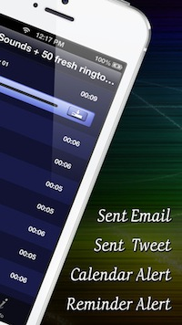 Sounds for sms:text messages
