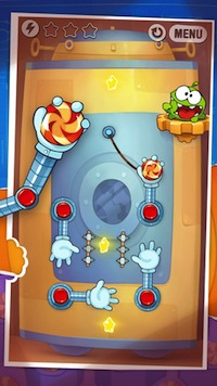 Cut the Rope- Experiments