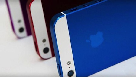 Apple iPhone couleur