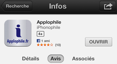 Applophile age iTunes