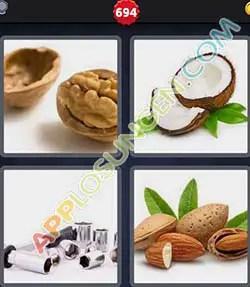 4 bilder 1 wort nüsse