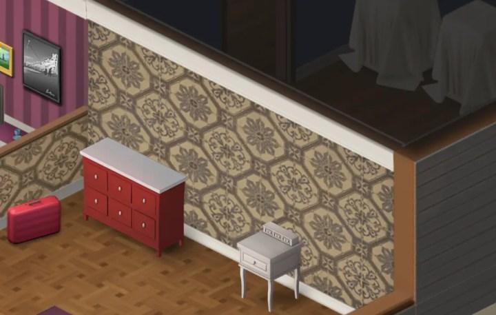 Tapeziere das Schlafzimmer - Wordington