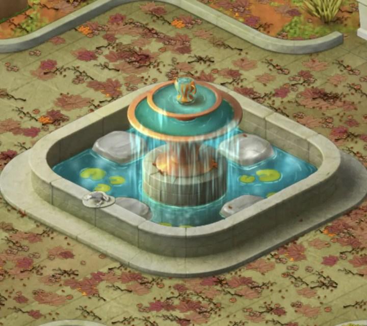 Schalte den Springbrunnen ein - Wordington