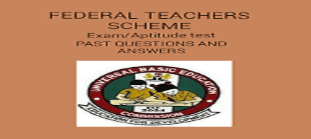 Federal Teachers Scheme Past Questions and Answers PDF