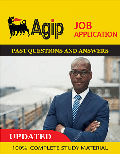 Agip Job Aptitude Test Past Questions and Answers PDF Download portal