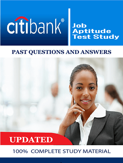 Citibank Past Questions and Answers for Job Recruitment Test