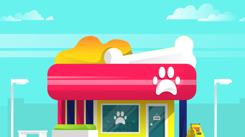 Build a pet store mobile app to allure animal lovers