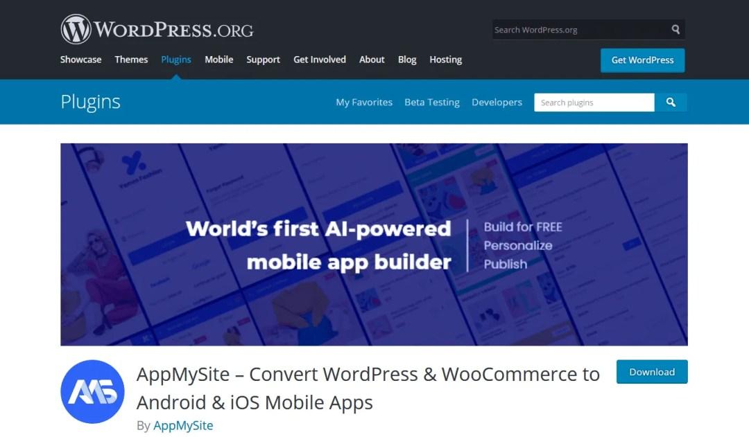 AppMySite WooCommerce App Builder