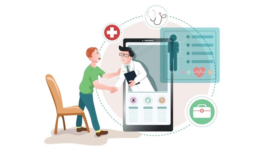 Create app with AppMySite clinic app builder