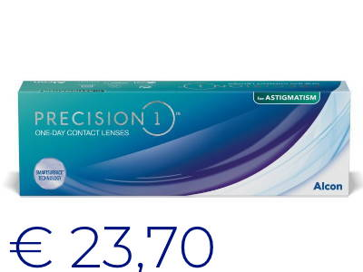 Precision 1 astigmatism