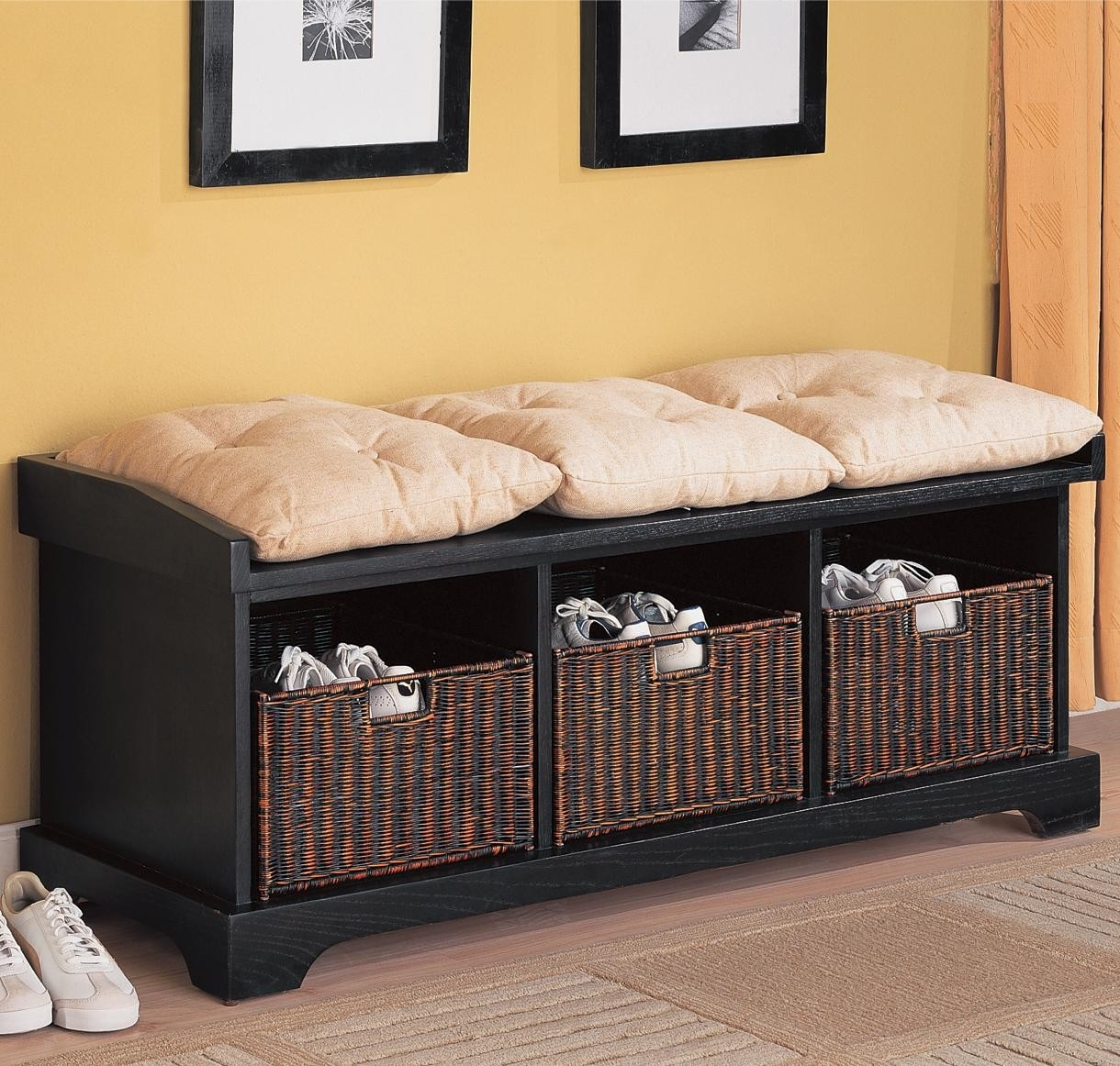 Bedroom Bench With Shoe Storage Benches For The Design At Foot Of Bed End Black Entryway Small Seat Window Upholstered Apppie Org