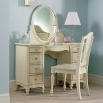 Bedroom Vanity Desk Home Furniture Design Ideas With Mirror Wood Computer Dollhouse Makeup Lights Table And Chair Corner Apppie Org