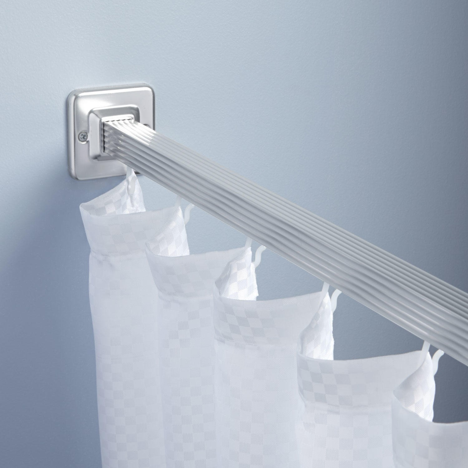curtain amusing shower rod cover