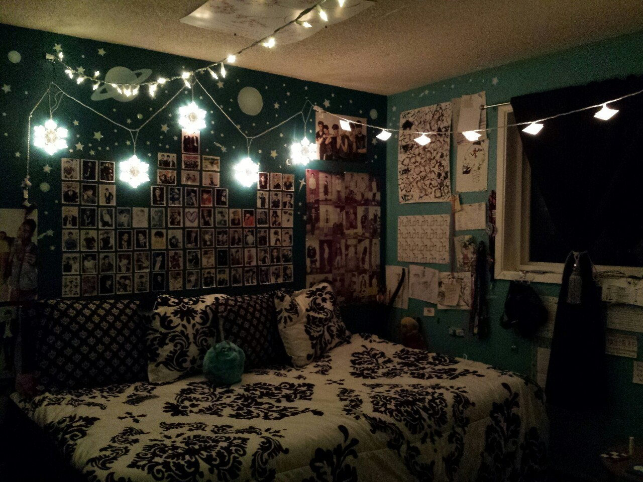 Kpop Bedroom Ideas If You Have Little Spaces String Lights Lighting Aesthetic Tumblr Wall Decorating Design Pokemon Room Crazy Bts Logo Apppie Org