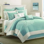 Light Blue Teal Coral Pattern Bed Forter With Beach Best Bedroom Carpet Atmosphere Ideas Bright Color Green Shades Of Colors That Match Water Apppie Org