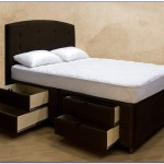 Queen Bed Frame With Storage Costco Bedroom Home Furniture Ideas Wood Accent Chairs Mattress Set Built In Dresser Headboard Drawers Slats Plans Ikea Apppie Org