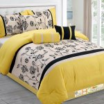 Black White Yellow Bedding Bed Frame Eaacfc Pale Bedroom Atmosphere Ideas Aqua And Print Art Gray Red Pink Apppie Org