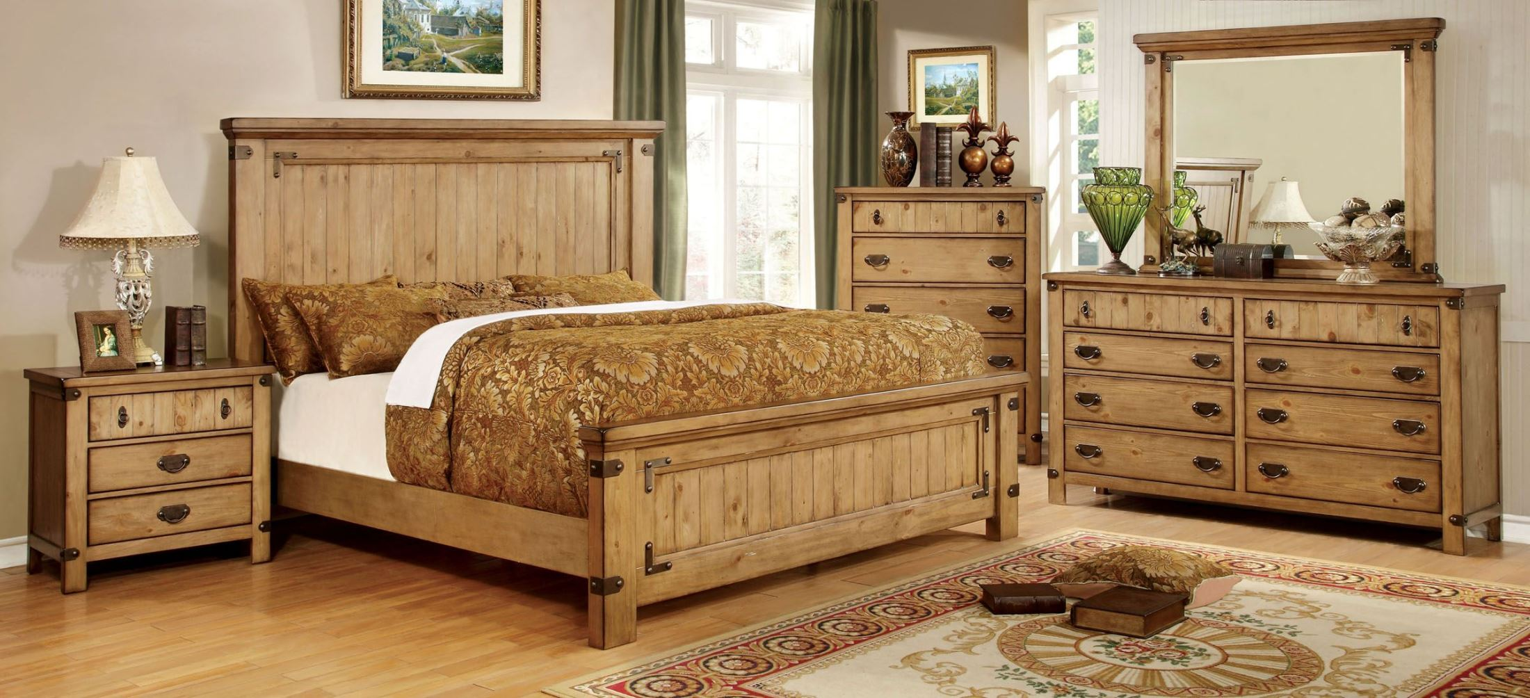 furniture of america pioneer burnished pine bedroom set sets atmosphere ideas telephone pioneers museum life in bell cookbooks american the west early new apppie org